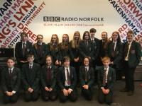 BBC News SR visit to BBC East and Radio Norfolk (9)